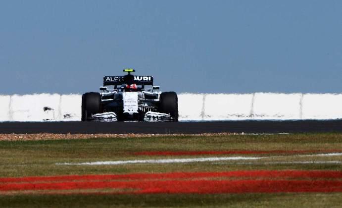 Pierre Gasly fechou o dia em 13º, mais de 1s5 atrás do líder Lewis Hamilton