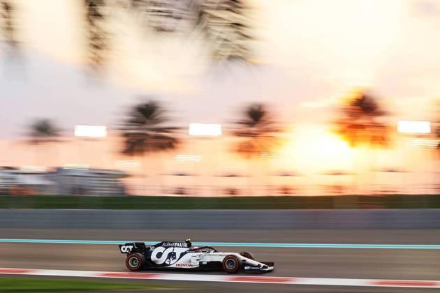 Pierre Gasly levou o carro ao Q3.