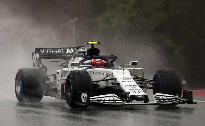 Pierre Gasly melhorou a posição de largada em relação ao GP da semana passada