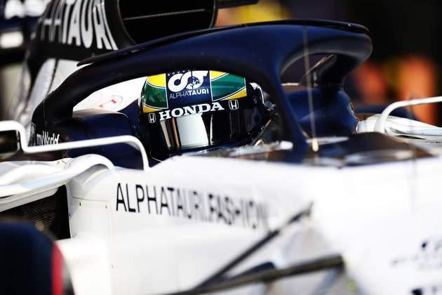 Pierre Gasly vai usar um capacete especial homenageando Ayrton Senna neste fim de semana