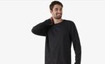 Super confortável, o pijama masculino longo protege você dofrio. Confeccionado em malha de viscose e poliéster, proporciona muito maisconforto e liberdade de movimentos