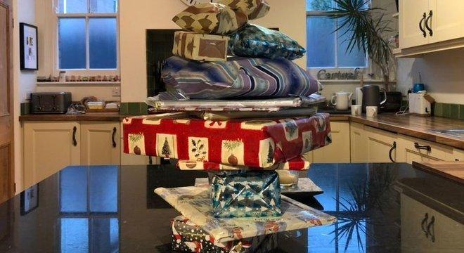 Família pensa em criar uma nova tradição natalina para filha após gesto de vizinho