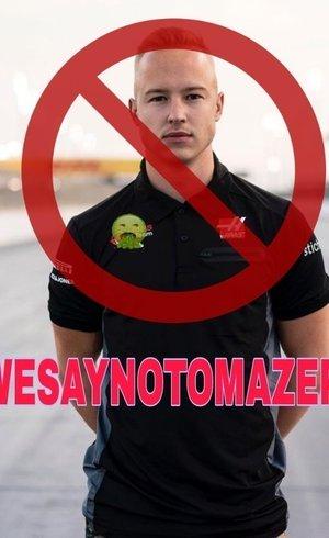 Fãs fazem campanha contra Nikita Mazepin