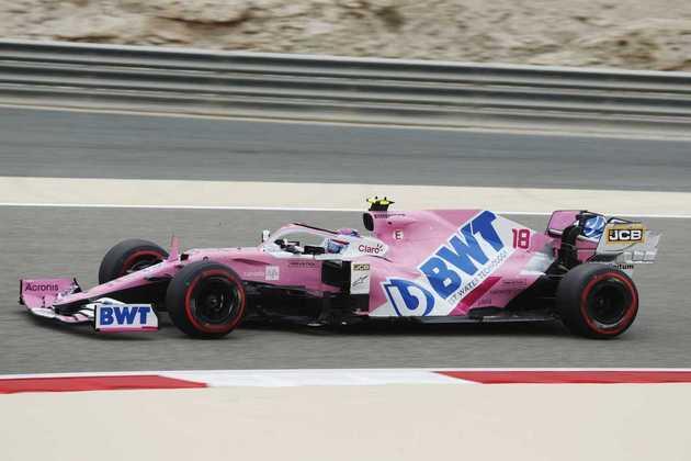 Piloto canadense foi o 8º mais rápido da sexta-feira.