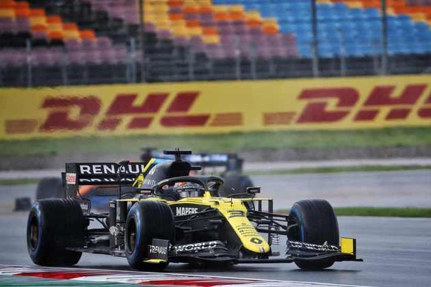 Piloto da Renault foi muito fora do ritmo.