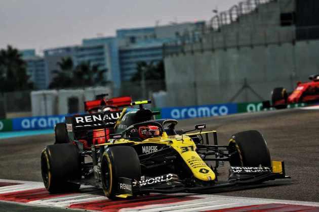 Piloto francês saiu com o nono lugar em Abu Dhabi.