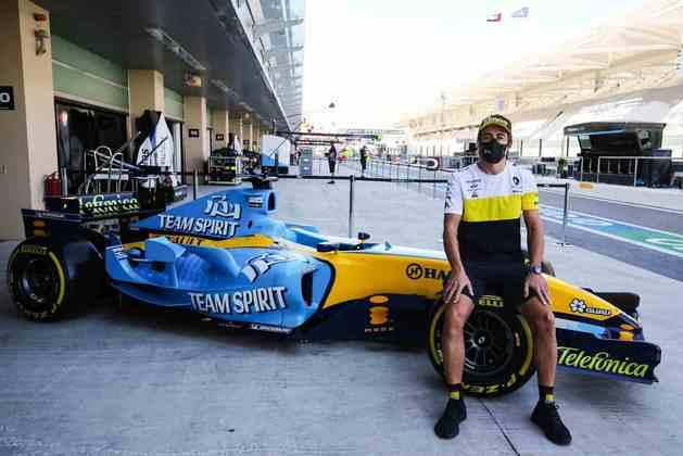 Piloto guiou o Renault R25, o carro do primeiro título mundial.