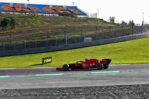 Piloto levou a Ferrari ao segundo lugar.