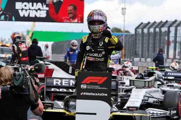 Piloto também se destacou por bela ultrapassagem sobre Leclerc
