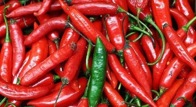 Os efeitos negativos da pimenta são mais intensos em pessoas mais magras