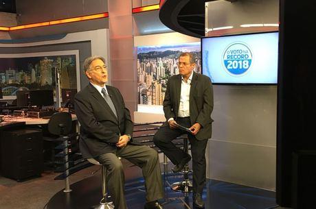 Pimentel foi entrevistado na RecordTV Minas