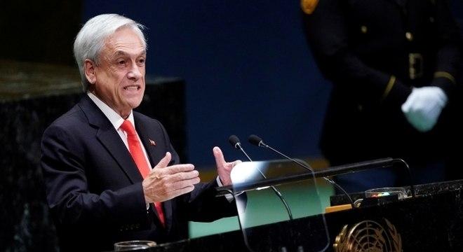 Piñera anunciou que implementará um plano para retomar gradualmente as atividades