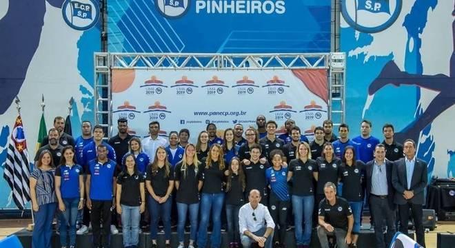 A impressionante delegação do Pinheiros ao Pan de Lima/2019