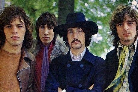 Formação do Pink Floyd nos anos 70