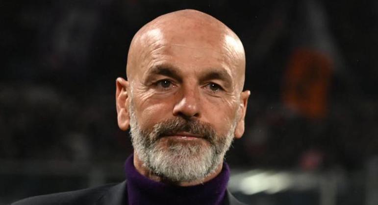 Stefano Pioli, o treinador do Milan, um ex-Juventus