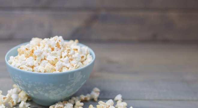 Pipoca- 10 benefícios da pipoca, vitaminas + cuidados com a pipoca
