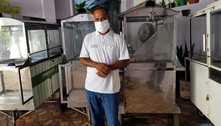 Com 10 filhos, pipoqueiro perde renda e tenta resistir à pandemia