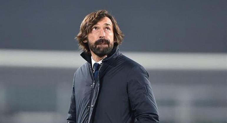 Pirlo está em seu primeiro ano como técnico da Juventus