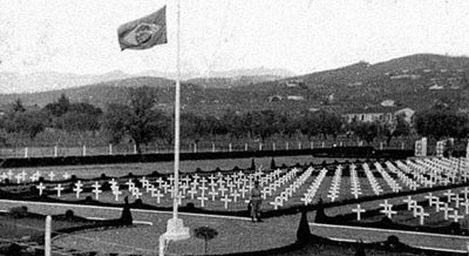 O cemitério dos brasileiros em Pistoia