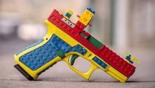 Pistola real que parece brinquedo causa polêmica nos EUA