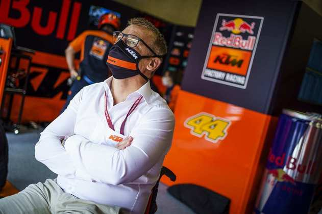 Pit Beirer, o chefe da KTM