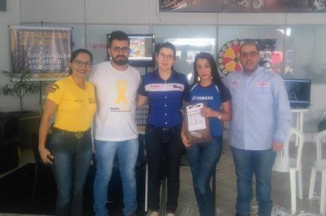 Ação de Segurança em Ji-Paraná com apoio do DETRAN/Ciretran local