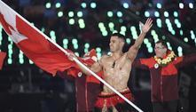 Besuntado será novamente porta-bandeira de Tonga na Abertura