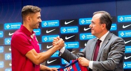 Pito vestirá a camisa 17 do Barcelona