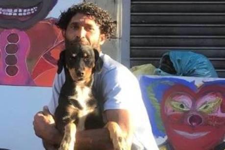 Cão salvou o dono de um ataque