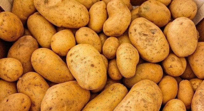 O preço do quilo da batata subiu 9,76% em janeiro