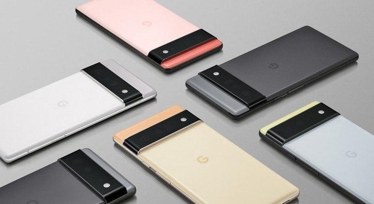 Smartphones Pixel 6 possuem chip próprio e que possuem recursos de inteligência artificial