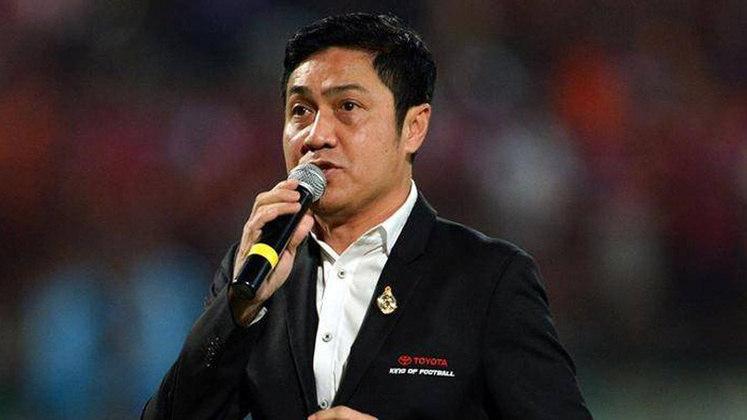 Piyapong Pue-On: 70 gols em 100 jogos pela seleção da Tailândia.
