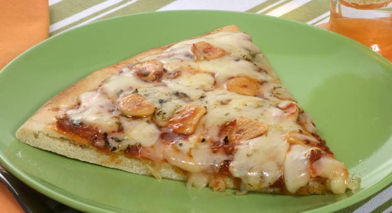 Pizza alho e óleo