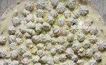 Torta de LimãoUma das 50 opções de sabores da Santa Pizzaria de Piracicaba, no interior de São Paulo. Os pedidos podem ser feitos por Whatsapp: (19)99717-1313