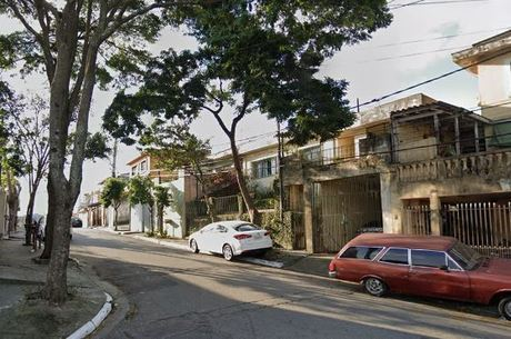 Rua onde aconteceu troca de tiros