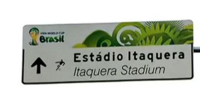 O apelido Itaquerão foi incentivado, sem querer, pela própria Fifa na Copa