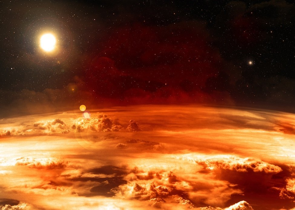 Temperaturas extremamente quentes ou congelantes em outros planetas podem tornar a vida insuportável