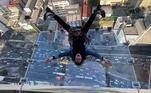 Este é o Sampa Sky, topo do prédio Palácio W. Zarzur, o mais alto de São Paulo no momento. Custa R$ 30 para ver a cidade assim, aos pésNÃO PERCA: Humphrey, o hipopótamo 'gigante e gentil' que matou o próprio dono