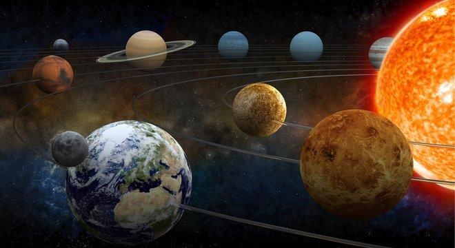 Influência gravitacional dos planetas e o movimento da Terra fazem com que a duração do ano nem sempre seja a mesma