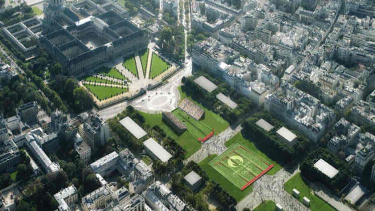 Plano para os Jogos Olímpicos de Paris, em 2024.