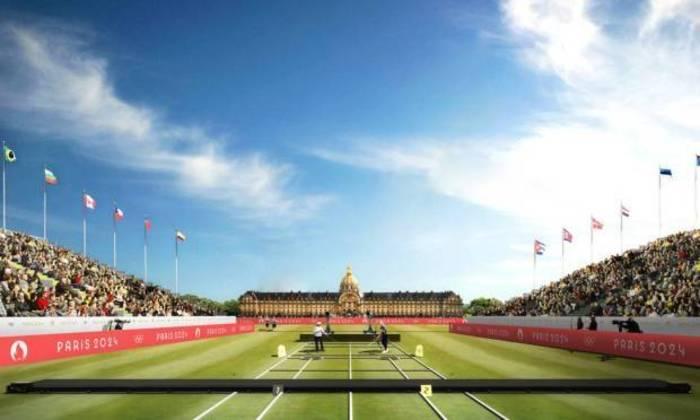 Plano para os Jogos Olímpicos de Paris, em 2024. Tiro com arco será disputado no Palácio Nacional dos Inválidos.