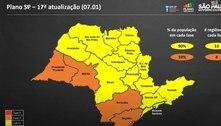 SP: Oito regiões regridem de fase em plano de reclassificação