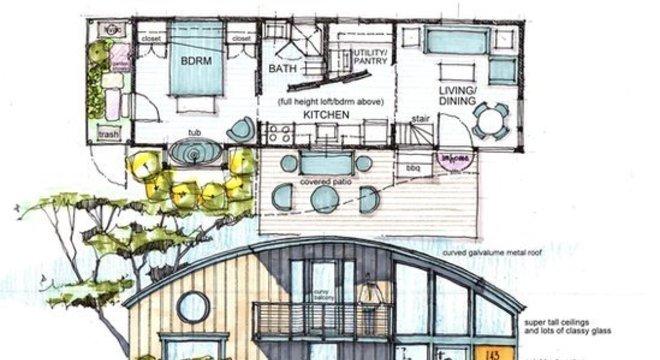 Esse tipo de residência existe em cidades como Chicago, Baltimore e Nashville