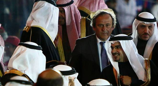 O envolvimento de Michel Platini a favor do Qatar sempre foi absoluto