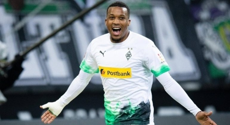 Alassane Pléa, do Borussia Moenchengladbach