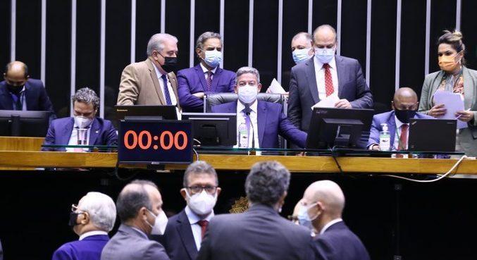 Plenário da Câmara, que aprovou projeto que estabelece transição para a cobrança de encargos