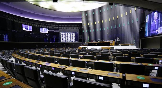 Sessão remota no Congresso é realizada separadamente entre deputados e senadores