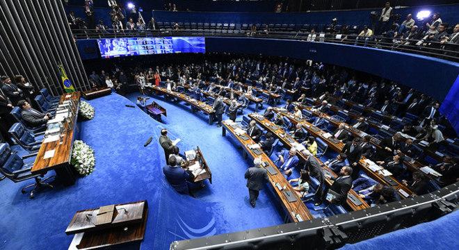 Senado: cargos da Mesa Diretora serão decididos na quarta-feira