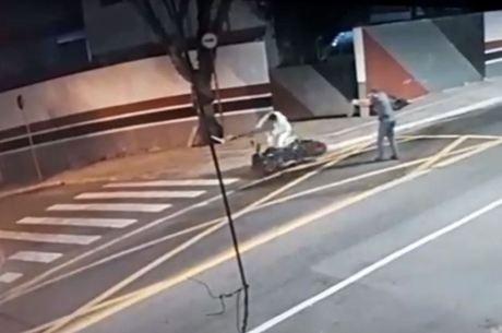 PM atirou nas costas de motociclista