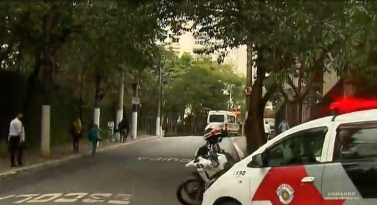 PM recebeu informações de suspeita de roubo na avenida Giovanni Gronchi
